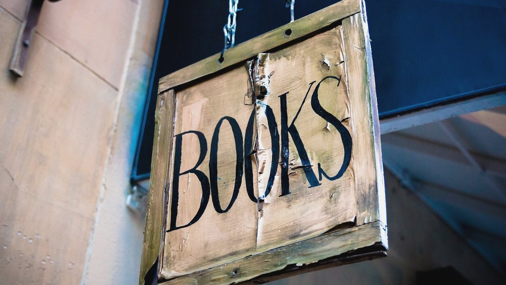 Old Book Store Sign