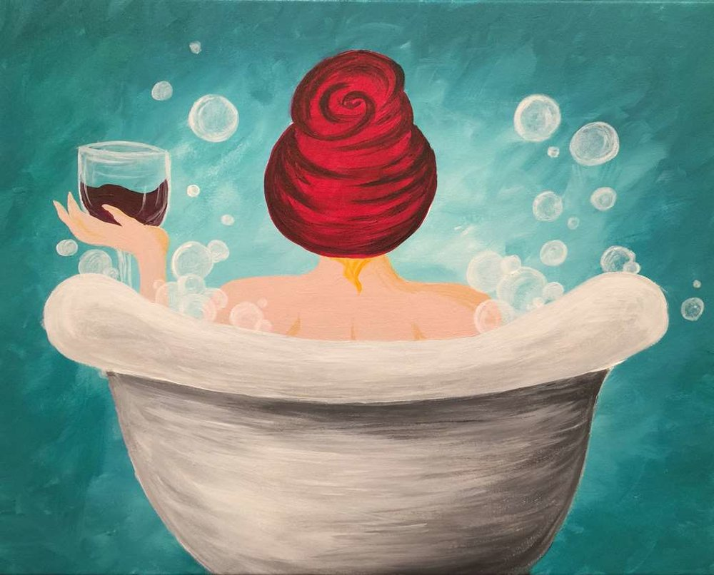 lady in the tub.afro add.jpg