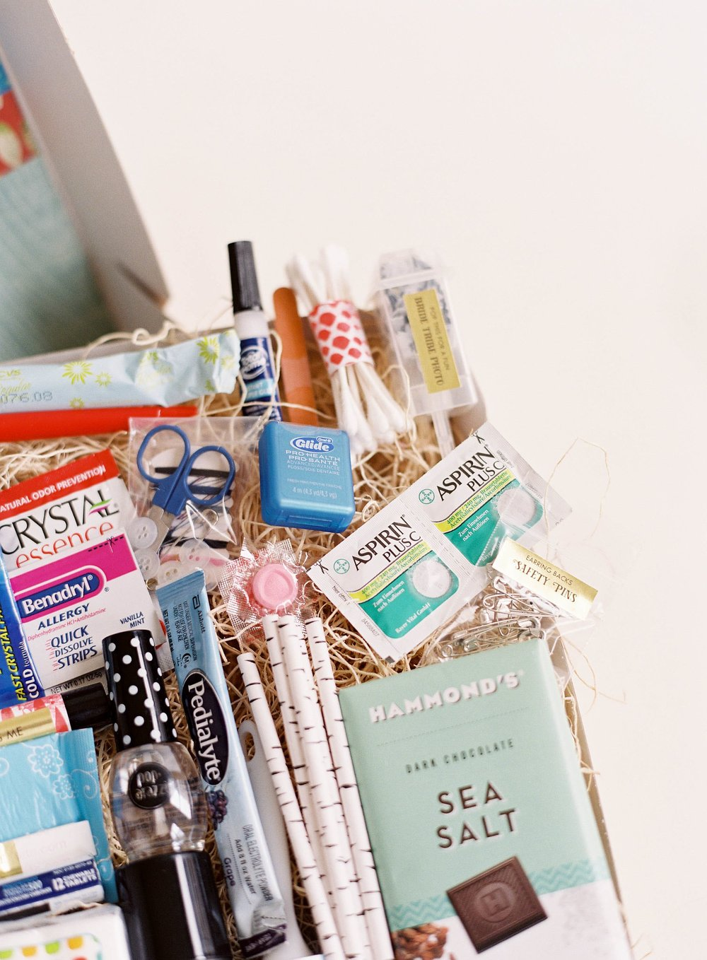 In Case of Emergency Bridal Suite Gift Box by Gilded Gifts photo 3.jpg