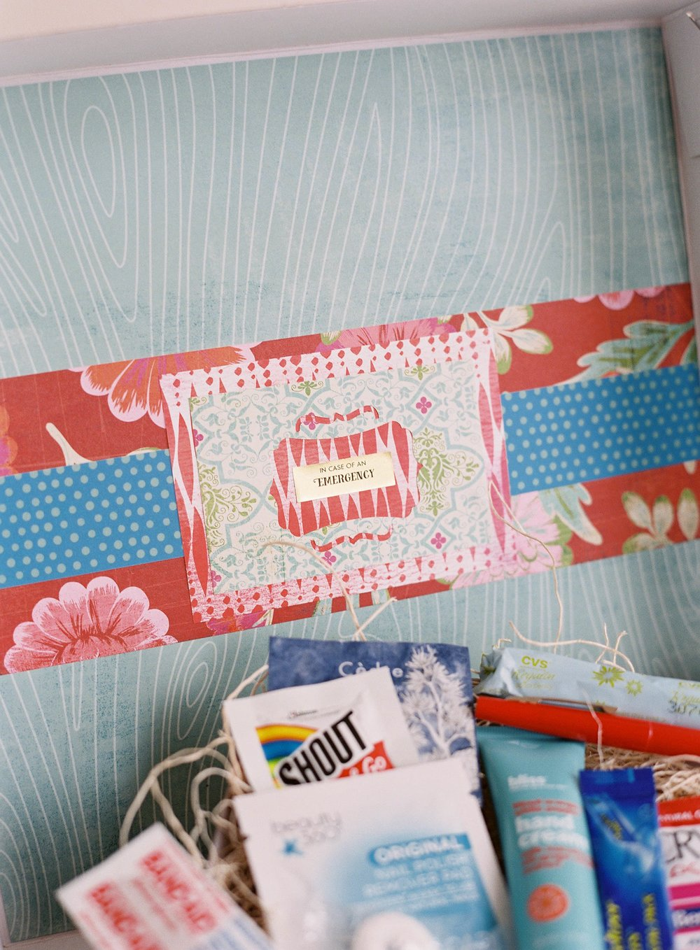 In Case of Emergency Bridal Suite Gift Box by Gilded Gifts photo 4.jpg