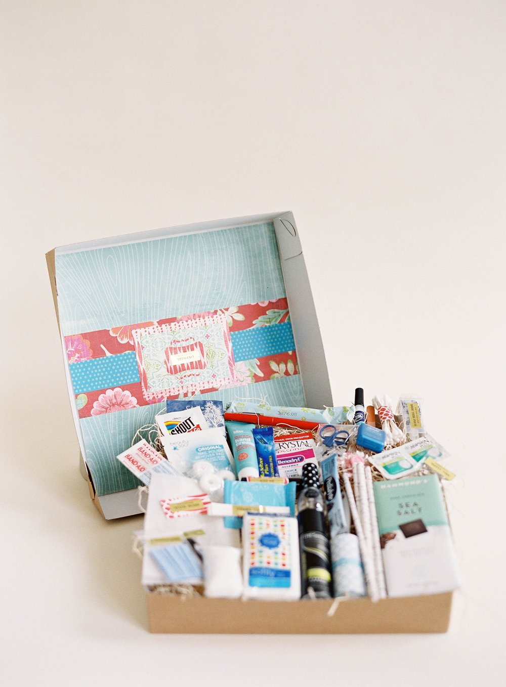In Case of Emergency Bridal Suite Gift Box by Gilded Gifts photo 1.jpg