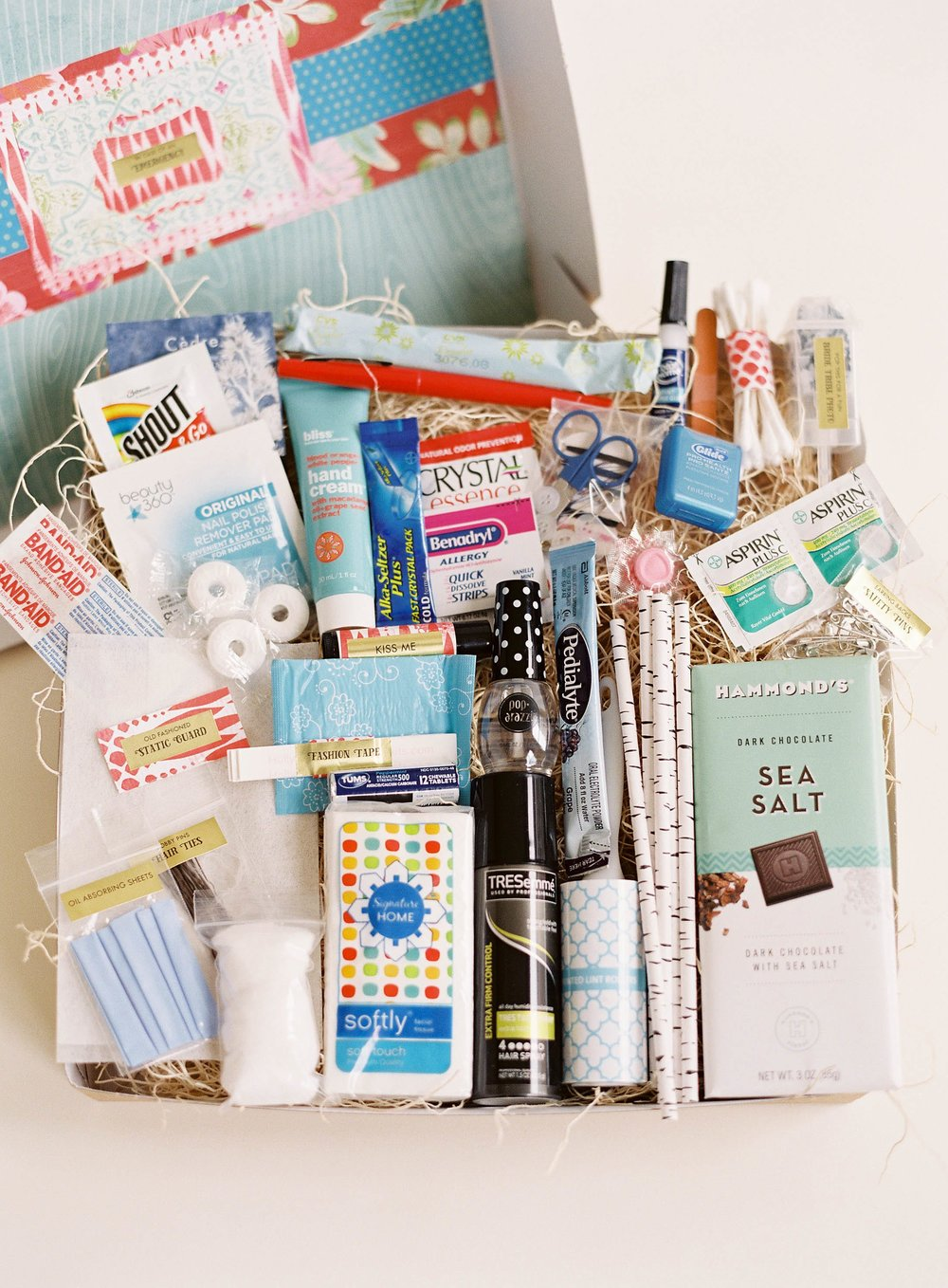 In Case of Emergency Bridal Suite Gift Box by Gilded Gifts.jpg