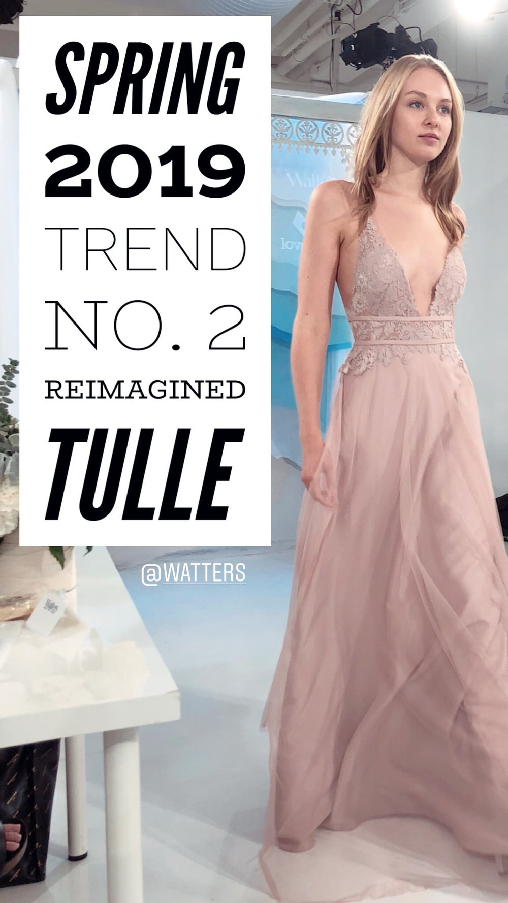 Watters takes tulle to a whole new level