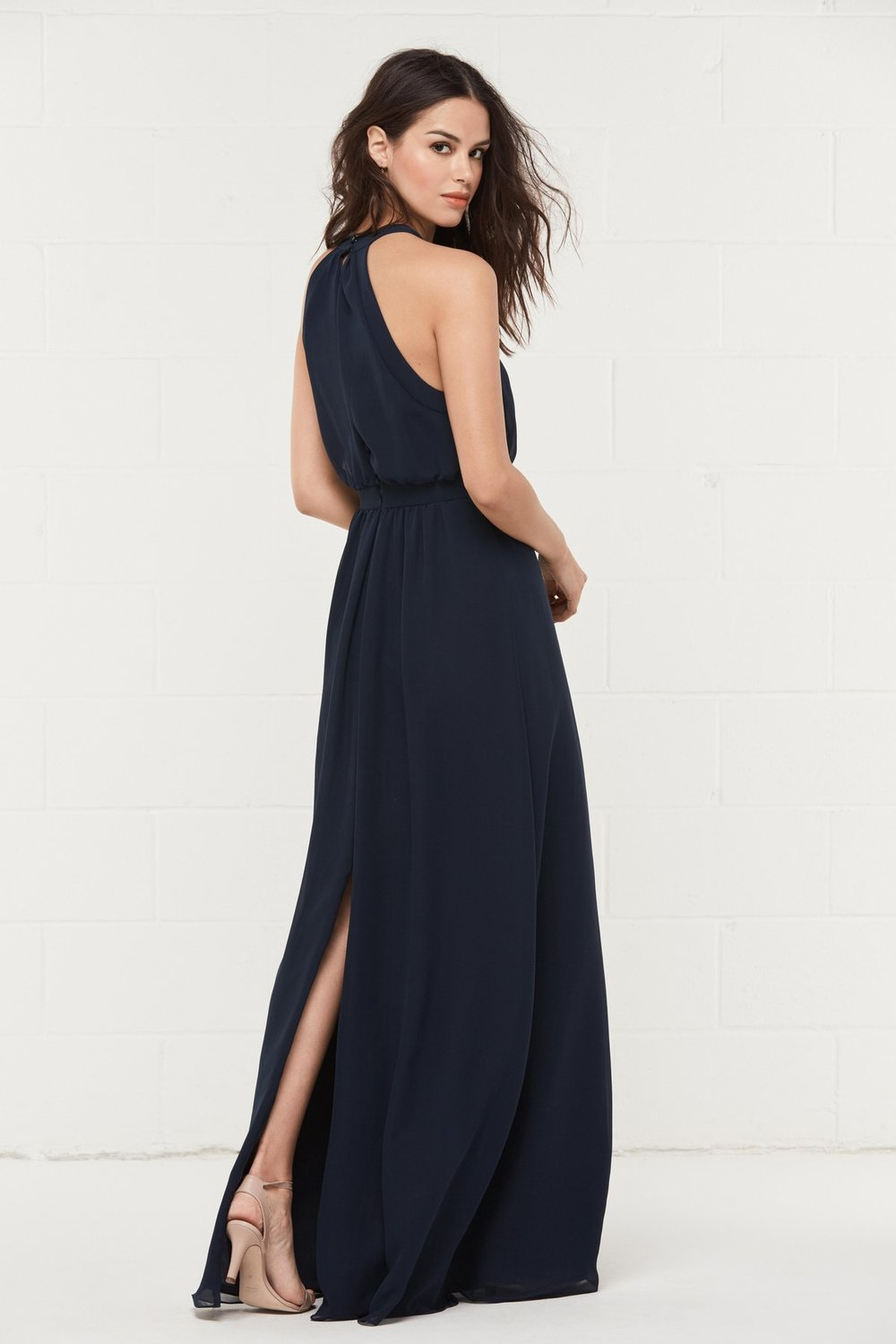 Back of 403 by Wtoo Bridesmaids in modest price point