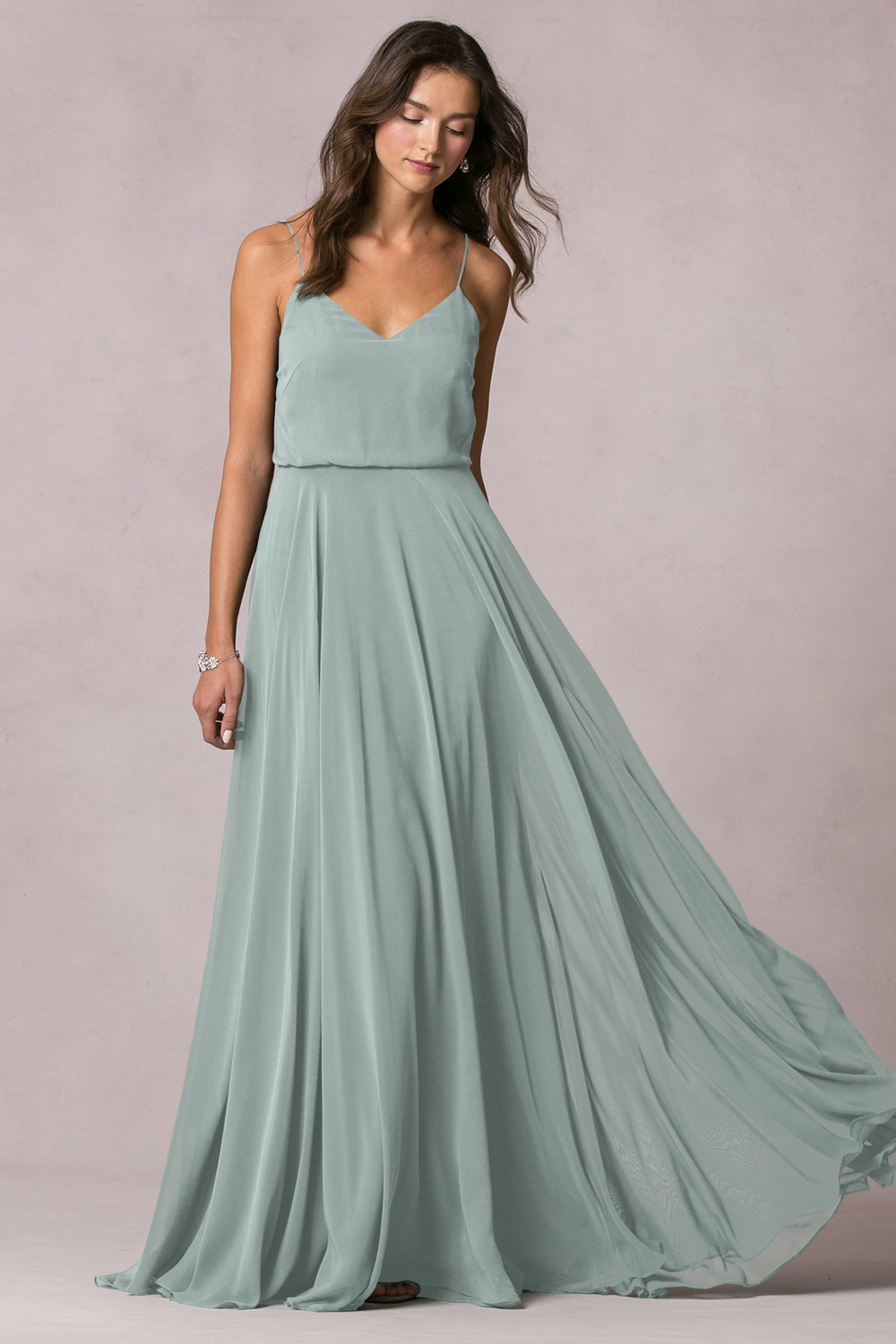Inesse in morning mist by Jenny Yoo Bridesmaids