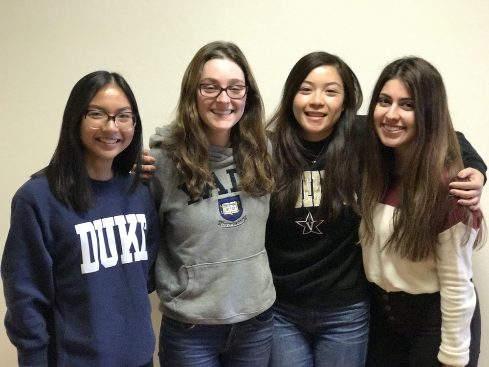 Elected to Chi Omega Lambda! - 4 USD Biochemistry Students  among 52 outstanding inductees to Chi Omega Lambda this year: Nina Marie Garcia, Halie Sonnenschein, Sirena Tran & Flowreen ShikwanaChi Omega Lambda is the Honor Society of the American Society for Biochemistry and Molecular Biology