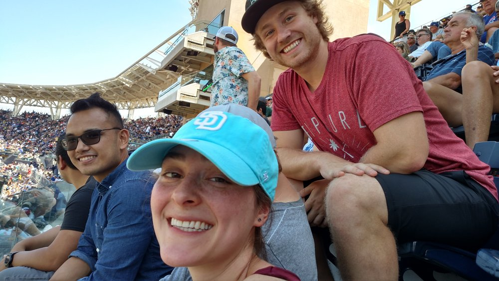 Bell Lab Alum: John Abano, Halie Sonnenshein and Michael Schwabe join in the fun at Petco
