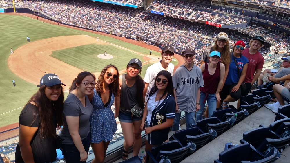 Bell Lab, Summer 18 at the Ball Game: Padres vs Cubs at Petco
