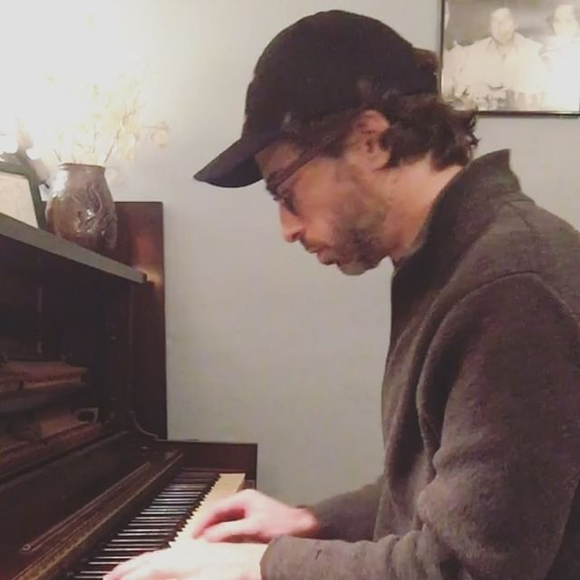 I've had this unfinished song rattling around for a while.  Basically two verses with a turn around.  The third clip is new chord change I need to either write a chorus or bridge lyric over.  As always Leonard is looking over my shoulder keeping me honest. #nashvillemusiclife #nashvillemusicscene #independentartist #singersongwriter #musicrow #unfinished #newsong #newalbum #newsingle #songwriter #nashvillemusic #nevergiveup