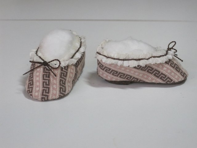 Petit Point Slippers