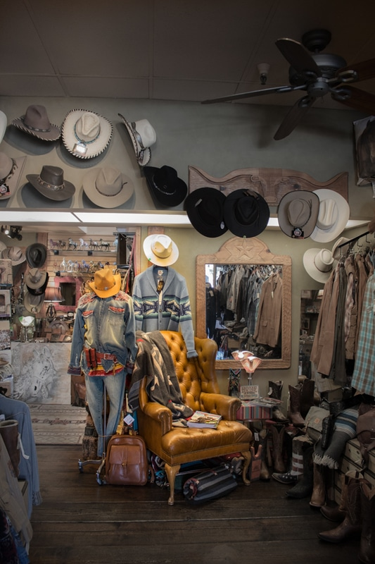 Frustrated Cowboy - Located right on Camino Del Mar (HWY 101) in luscious Del Mar, California, this bespoke shoppe of high-end western fashion and functional goods is a gem of a boutique nestled adjacent to pure blue waters of the Pacific Ocean. Leather goods from WILL's out of Eugene, OR, hats and shirts by Stetson, Ryan Michael, Scully, Pendleton - only the finest shirts, hats, bags, jackets, vests, bracelets and more adorn this fantastic storefront run by an amazing local staff - stop in next time you're on the Southern California coastline.