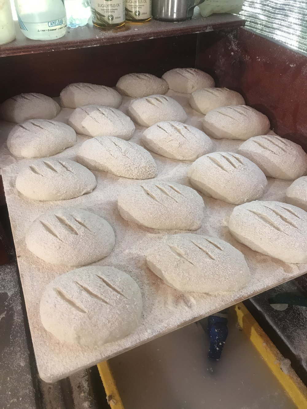 Dough is an excellent insulator!