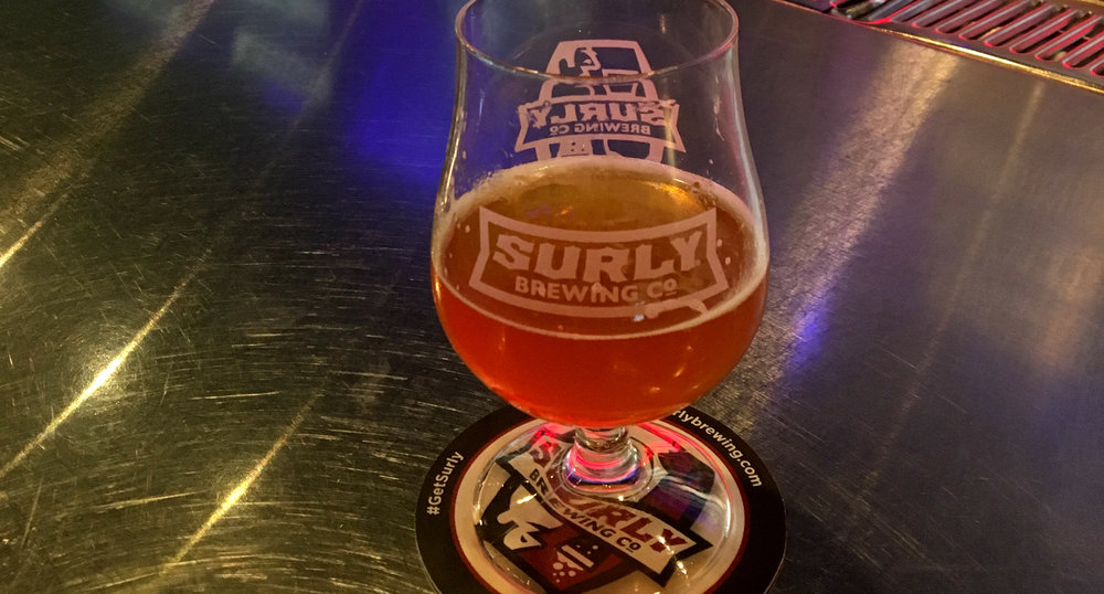 Dumpster Fire - a smoked IPA brewed with Puya chilies