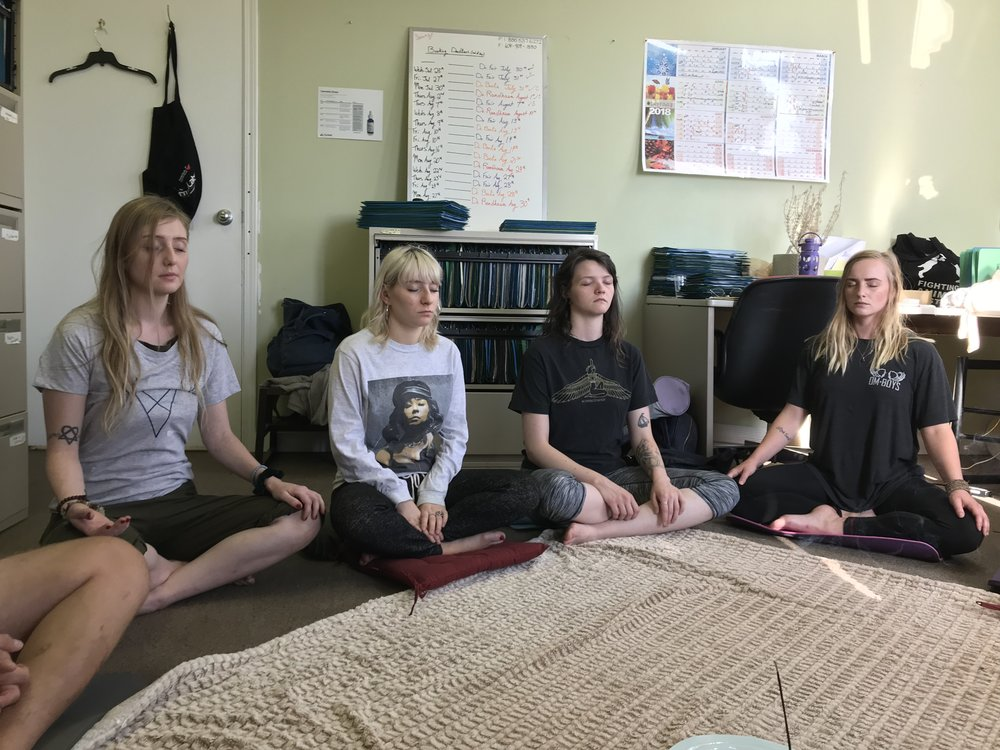 "The staff at    MCRCI    Vancouver   ""We had the most amazing medicated meditation session!"""
