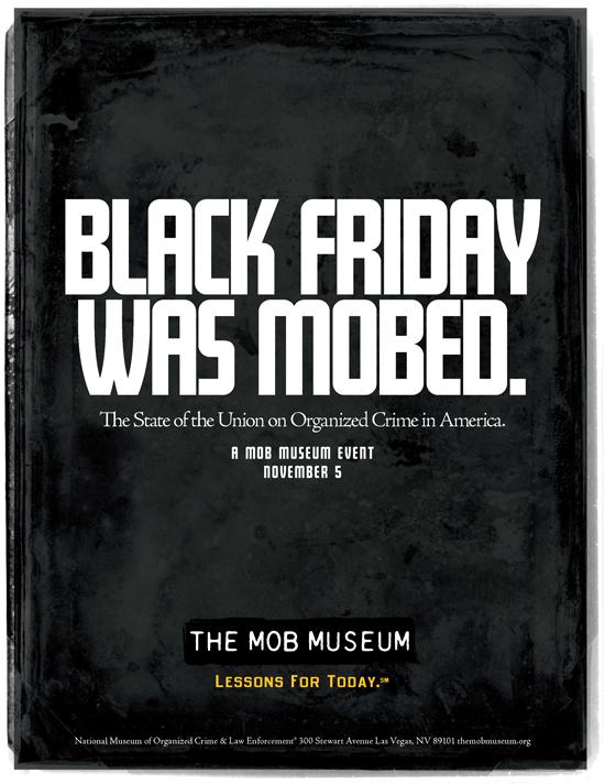 Mob Museum Print Ad