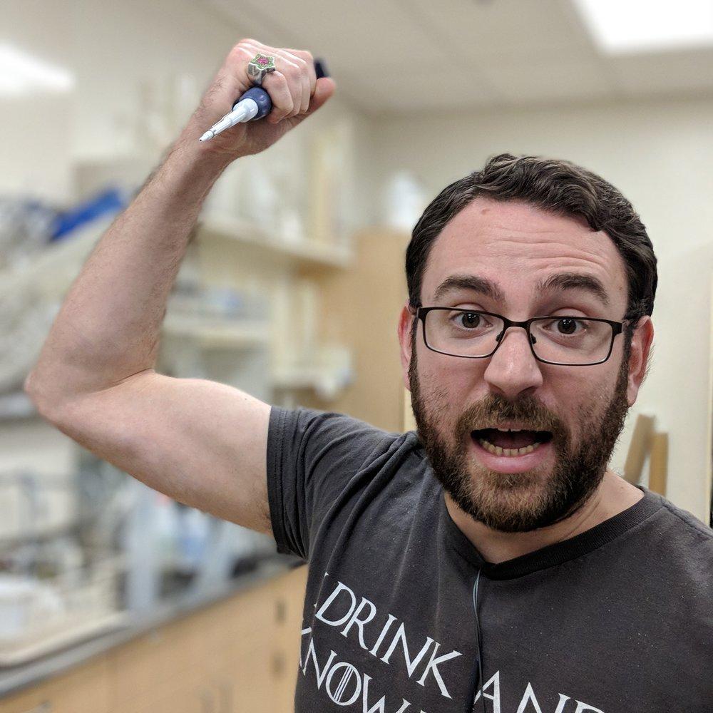 David Goodman   B.S. Biology, Portland State, 2014 M.S. Biology, Portland State, 2018  Genomic characterization and most things pertaining to SSV1 & SSV10. Don't talk to me I'm singing. Now Laboratory Preparator, Portland State University.