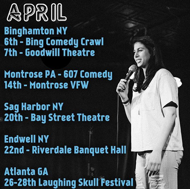 Where I'll be traveling w Jesus in #April #607comedy