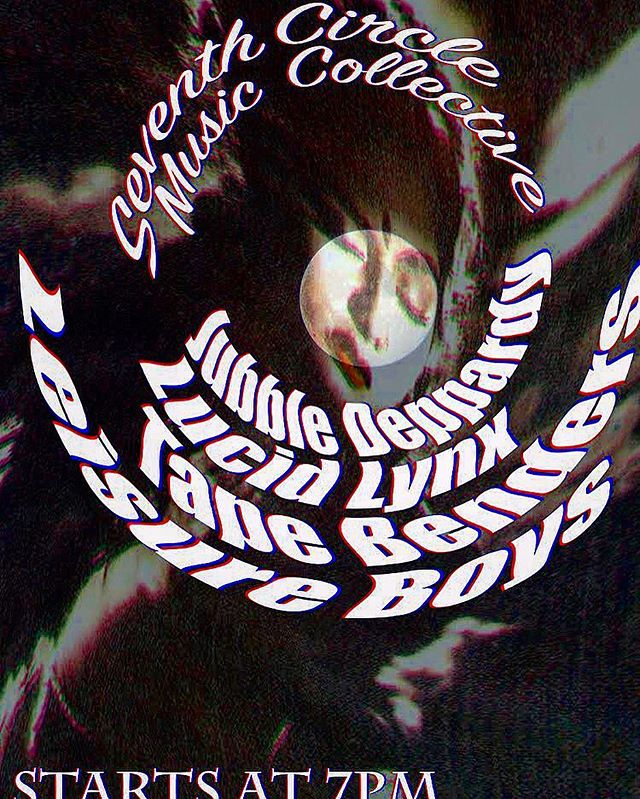 FULL MOON SHINDiG THIS FRIDAY 7/27 #jubbledeppardy @lucidlynx_ @tapebenders #leisureboys starting at se7en!!!
