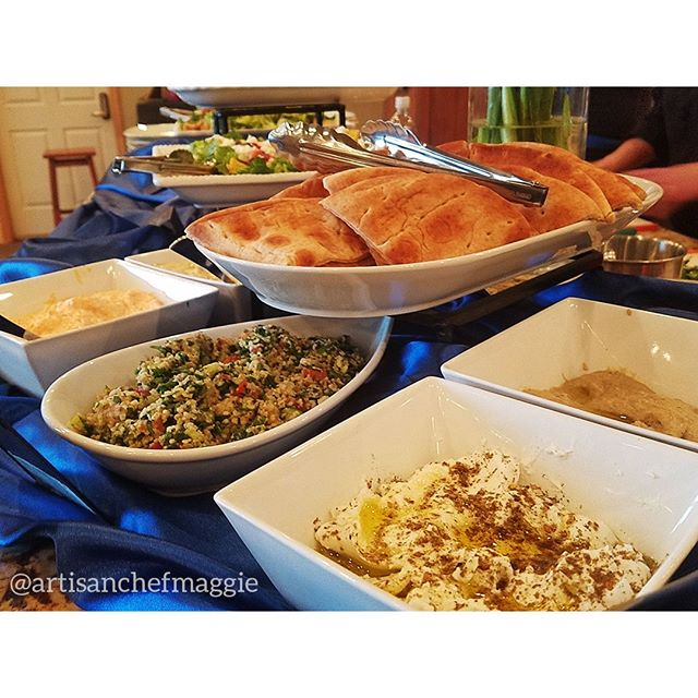 We love fresh Mediteranean flavors!Selection of Greek Dips with Warm Pita⁣ #food #chef #dessert #passedappetizers #horsdoeuvres #chefsofinstagram #catering #privatechef #appetizers #partyplanning #weddingplanning #weddingfood #weddingwyoming #wyomingwedding #lasvegasfood #lasvegaswedding #delicious #handmade #lasvegas #foodie #wyoming #jacksonhole #starvalley #cheflife