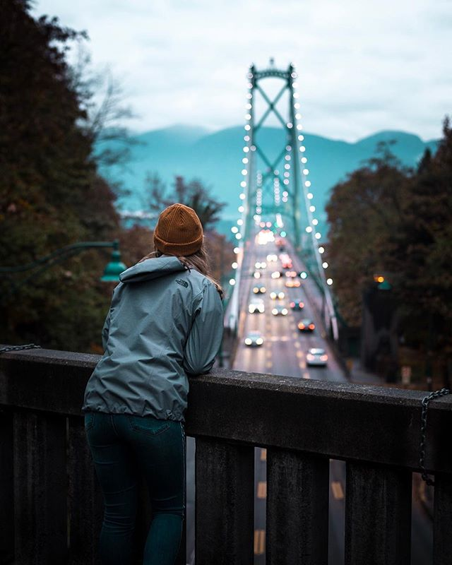 /Take It In/ A look at the Lions Gate Bridge in Vancouver. We got here right before dusk set in. Heading back to the city afterwards made for a sketchy hour long walk/run in the dark. . . . . #allaboutadventures #creative_ace #forbiddenart #vancouverbc #lionsgatebridge #lensbible #creativecommune #lensbible #explorebc #moody_nature #citykillerz