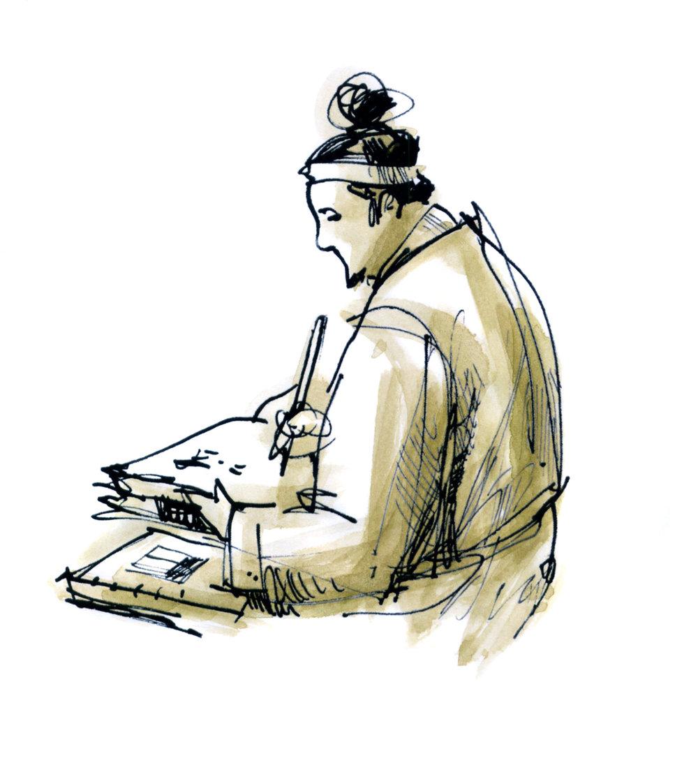 Lan Su Chinese Garden - scholar