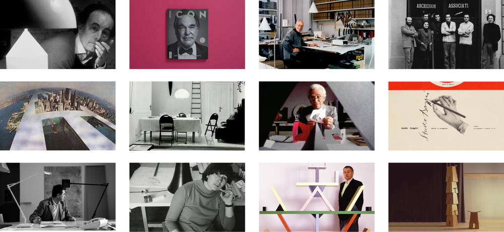 Some of the external images used in the italiaDesign films