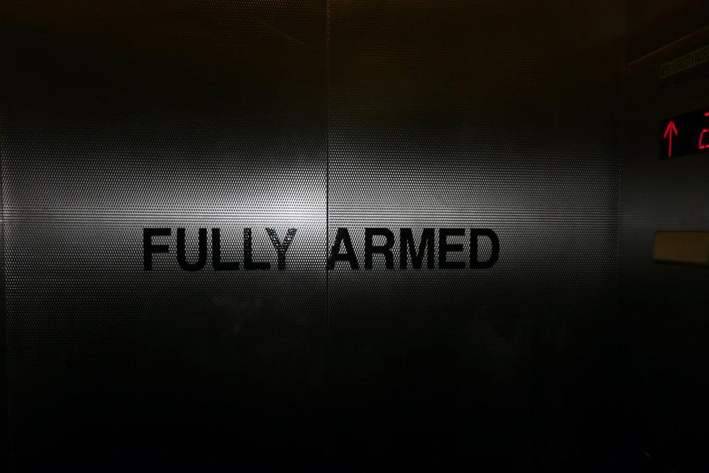 Celebrate Spring Fully Armed. 2009