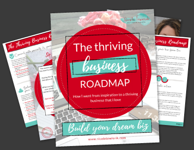 Nicole Tewierik Thriving Business Roadmap