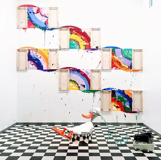 Richard Jackson - Paintings #richardjackson #paris