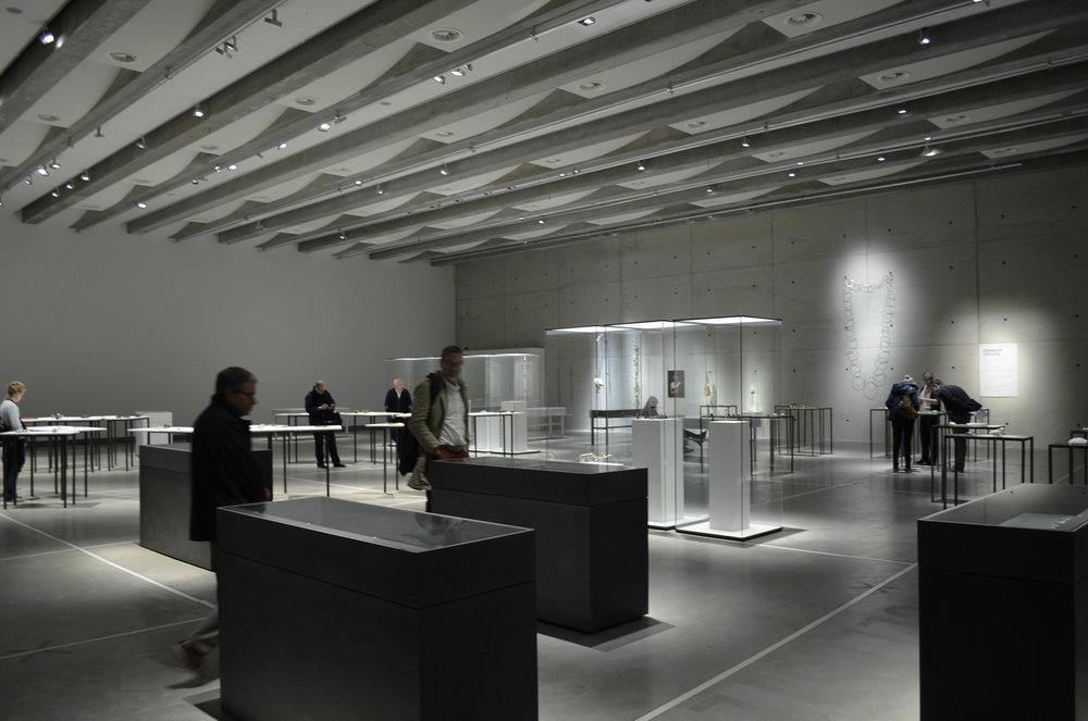 Hof van Busleydenin uusi maanalainen näyttelytila. Kuva: Nana Meparishvili