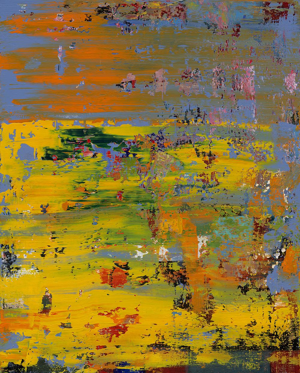 A Walk in Autumn, Robert Huang, Mixed media, 2017 (100x80cm)
