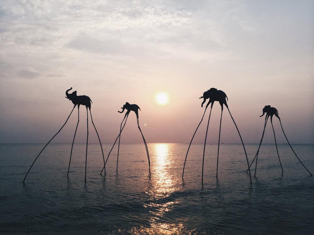 Phu Quoc, Vietnam - Sunset at Sanato Beach Club