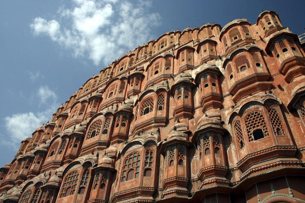 Jaipur, India - Hawa Mahal