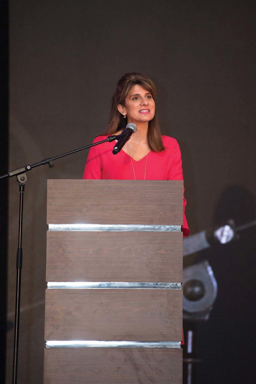 UICC PRESIDENT, Princess Dina Mired