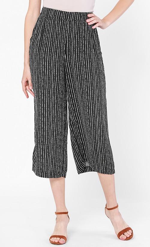 Striped Culotte, FashionValet