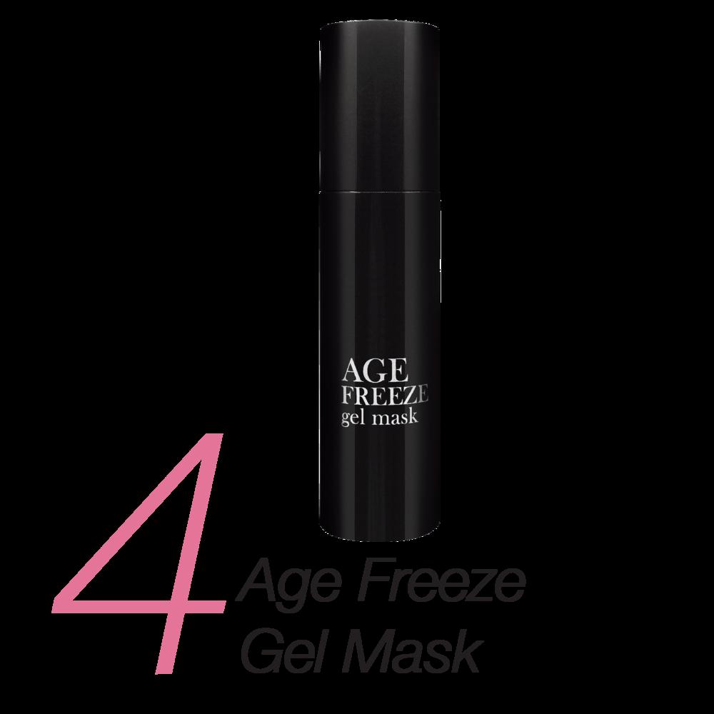 4.    Age Freeze Gel Mask