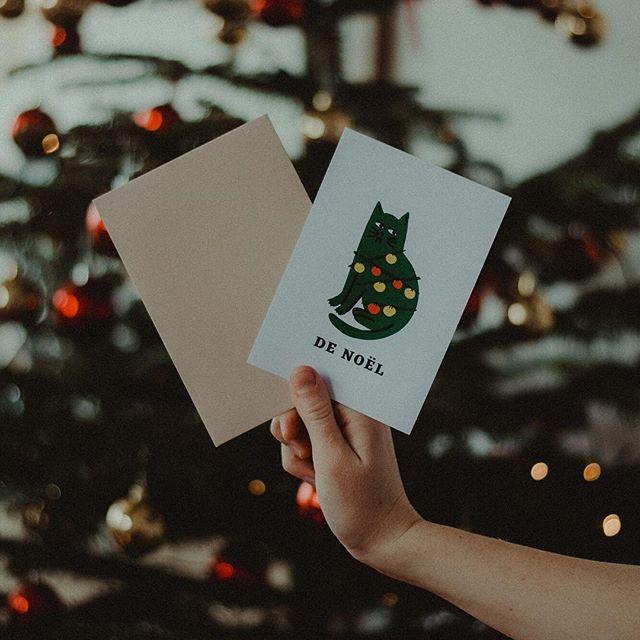 Nos cartes de Noël sont désormais disponibles sur notre site 🎄