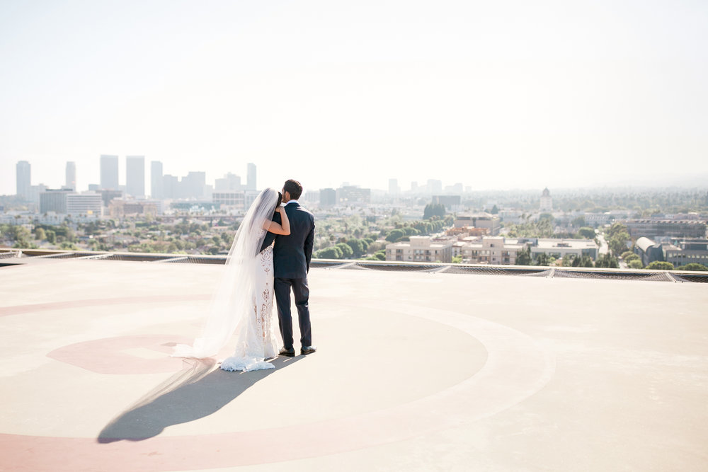 015_Four Seasons Beverly Hills Bride & Groom Photos on Rooftop.JPG