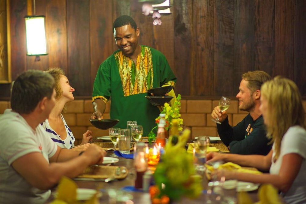 Gombe Forest Lodge | Gombe Dining