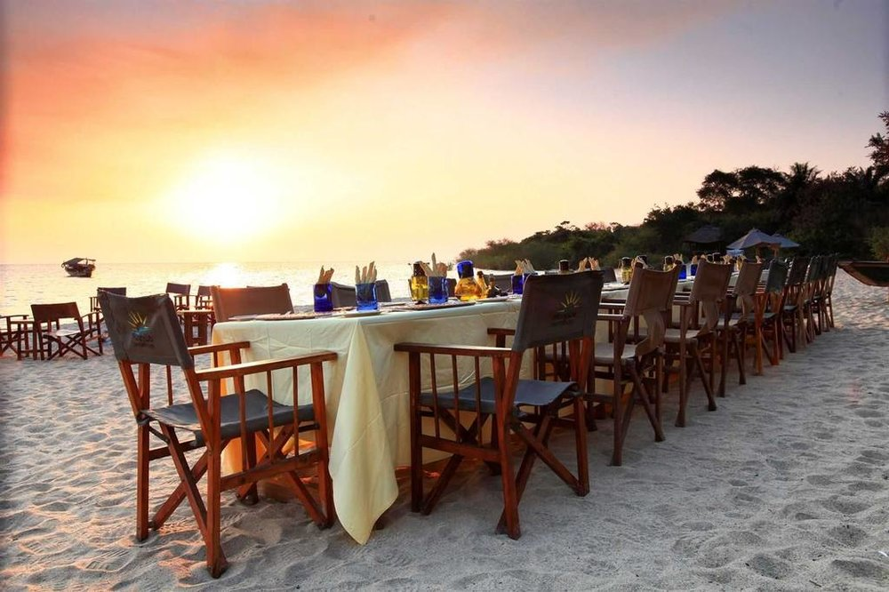 Kungwe Beach Lodge | Kungwe Dining