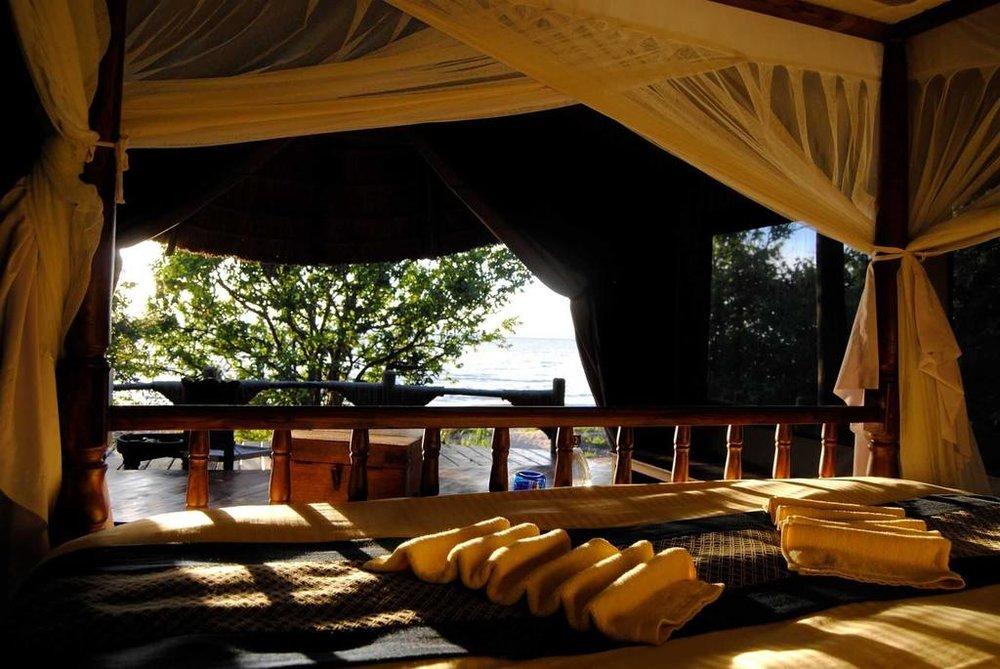 Kungwe Beach Lodge | Kungwe Room