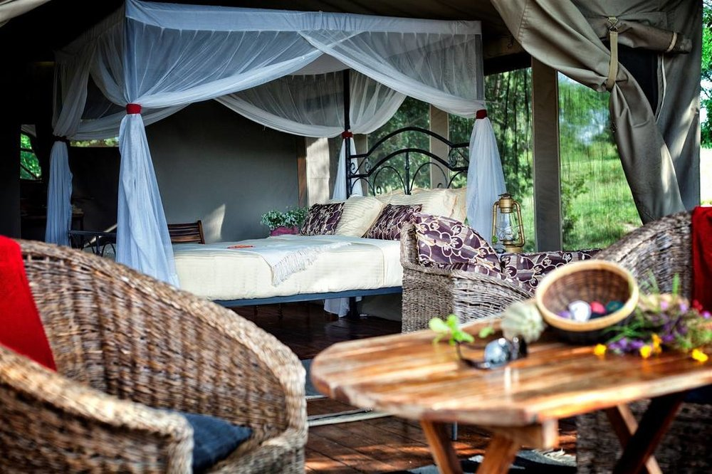 Tarangire River Camp Accommodations | Luxury Safari TentTarangire River Camp Accommodations | Safari Tent (Double)