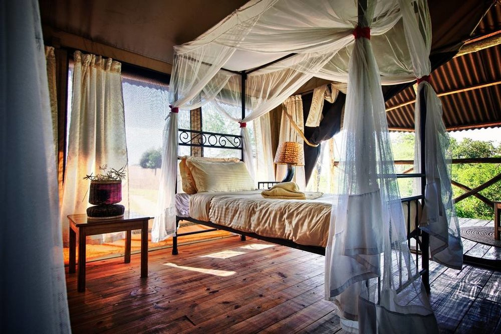 Tarangire River Camp Accommodations | Luxury Safari TentTarangire River Camp Accommodations | Safari Tent (Twin)