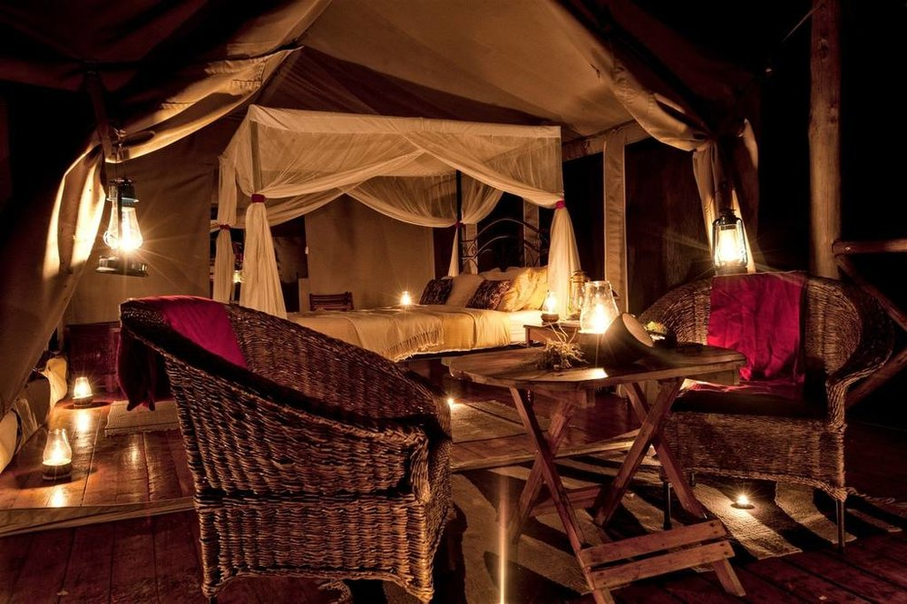 Tarangire River Camp Accommodations   Luxury Safari Tent