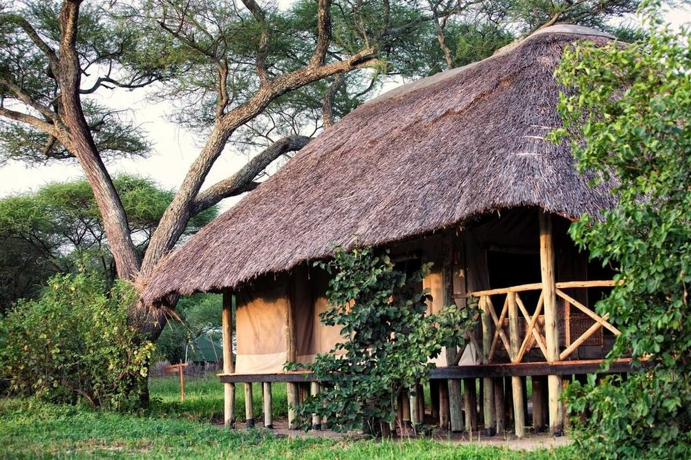 Tarangire River Camp Accommodations | Luxury Safari TentTarangire River Camp Accommodations | Family Safari Tent for 3