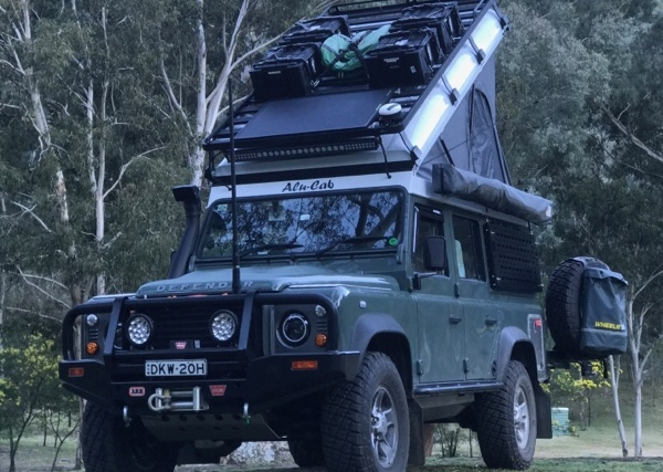 The Defender Pop Top - The ultimate start for the ultimate tourer.