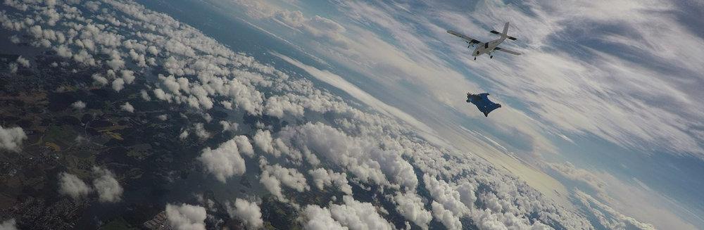skydive tønsberg fallskjerm wingsuit