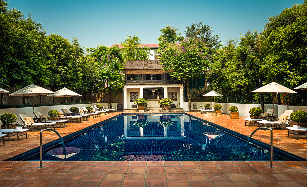Rachamankha Boutique Hotel Pool Chiang Mai Thailand