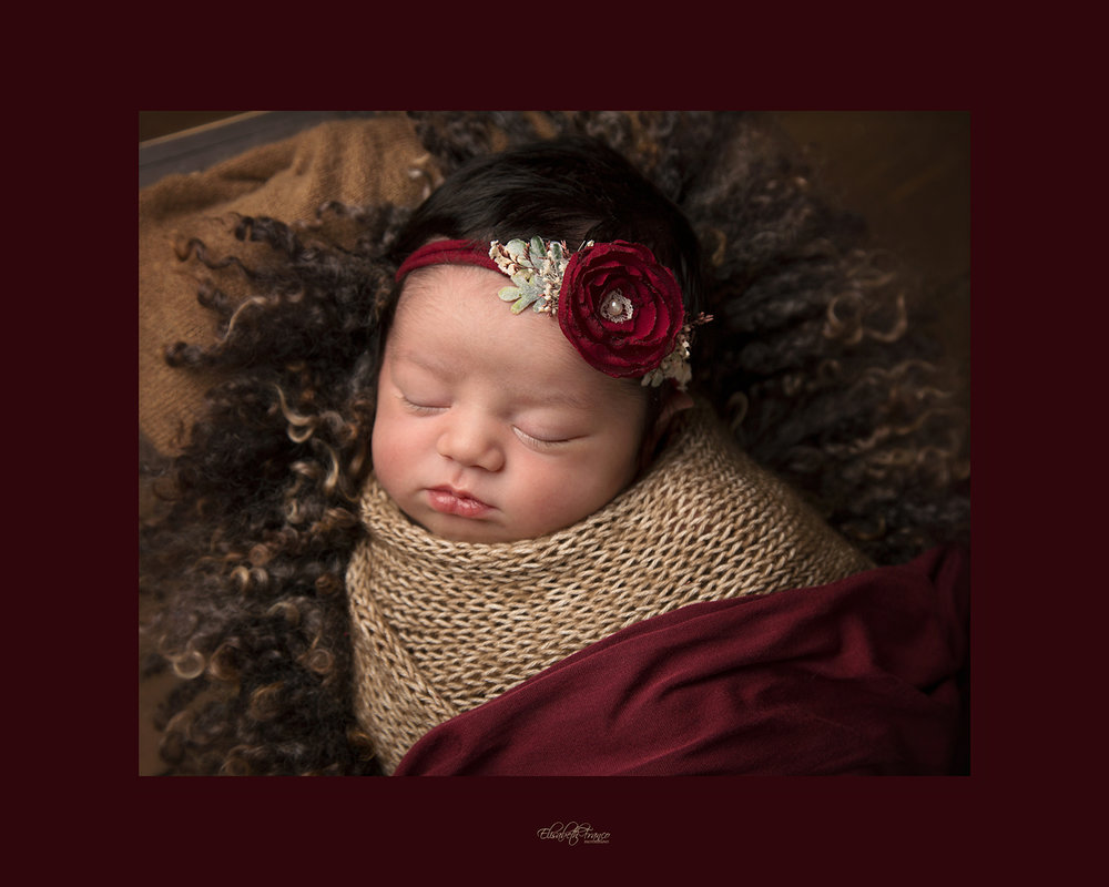 Newborn Christmas session in Gloucester