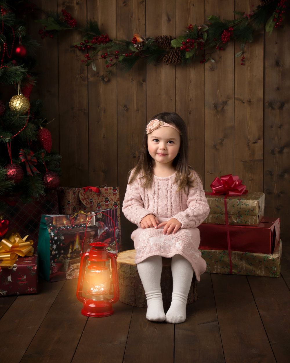 Elisabeth Franco Photography children's christmas mini sessions in Gloucester